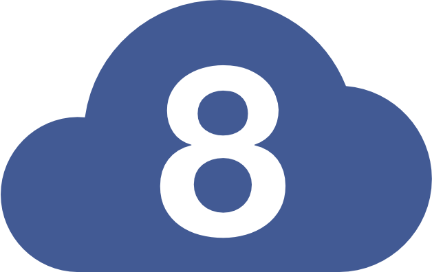 Moln8 logotyp